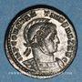 Monnaies Constantin I (307-337). Follis. Trèves, 2e officine, 318-319. R/: deux Victoires