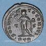 Monnaies Constantin I (307-337). Follis. Trèves, 313-315. R/: le Soleil radié