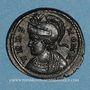 Monnaies Constantin I (307-337). Monnayage pour Rome. Follis. Lyon, 1ère officine, 332. R/: la Louve