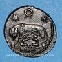 Monnaies Constantin I (307-337). Monnayage pour Rome. Follis. Trèves, 2e officine, 330-331. R/: la Louve