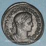 Monnaies Constantin I, césar (306-307). Follis. Trèves, 1ère officine, 307. R/: Constantin en habit militaire