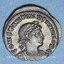 Monnaies Constantin II, césar (317-337). Centénionalis. Alexandrie, 2e officine 333-335 R/: deux soldats