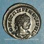 Monnaies Constantin II, césar (317-337). Centenionalis. Lyon, 1ère officine, 321. R/: autel