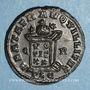 Monnaies Constantin II, césar (317-337). Centenionalis. Lyon, 1ère officine, 321. R/: globe
