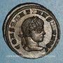 Monnaies Constantin II, césar (317-337). Centenionalis. Siscia, 2e officine, 320-321. R/: VOT / V