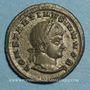 Monnaies Constantin II, césar (317-337). Centénionalis. Siscia, 3e officine. 320-321. R/: couronne