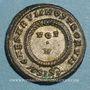 Monnaies Constantin II, césar (317-337). Centénionalis. Siscia, 3e officine. 320-321. R/: VOT / V