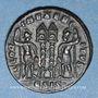 Monnaies Constantin II césar (317-337). Centénionalis. Siscia, 5e officine, 334-335. R/: deux soldats