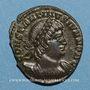 Monnaies Constantin II, césar (317-337). Centénionalis. Trèves, 1ère officine. 333-334. R/: deux soldats