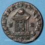 Monnaies Constantin II, césar (317-337). Follis. Londres, 1ère officine, 322-323. R/: globe posé sur un autel