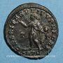 Monnaies Constantin II, césar (317-337). Follis réduit. Trèves. 1ère officine, 317. R/: le Soleil