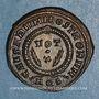 Monnaies Crispe, césar (317-326). Centenionalis. Aquilée, 2e officine, 322. R/: Couronne