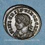 Monnaies Crispe, césar (317-326). Centenionalis. Lyon, 1ère officine, 323. R/: VOT / X dans une couronne