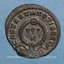 Monnaies Crispe, césar (317-326). Centenionalis. Trèves, 2e officine, 323-324. R/: VOT / X