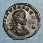 Monnaies Crispe, césar (317-326). Follis. Londres, 1ère officine. 317. R/: le Soleil