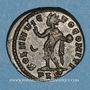 Monnaies Crispe, césar (317-326). Follis. Londres, 1ère officine. 318. R/: le Soleil