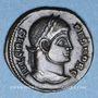 Monnaies Crispe, césar (317-326). Follis. Siscia, 1ère officine, 321-324. R/: Couronne