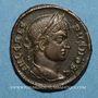 Monnaies Crispe, césar (317-326). Follis. Siscia, 3e officine, 321-324. R/: couronne