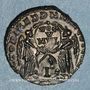 Monnaies Décence, césar (350-353). Maiorina. Arles, 2e officine (?). 351-352. R/: deux Victoires