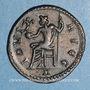 Monnaies Dioclétien (284-305). Antoninien. Lyon, 1ère officine, 292. R/: Jupiter assis à gauche