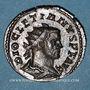 Monnaies Dioclétien (284-305). Antoninien. Lyon, 1ère officine, 294. R/: la Paix