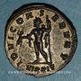 Monnaies Dioclétien (284-305). Antoninien. Ticinum, 6e officine, 285-286. R/: Jupiter
