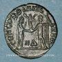Monnaies Dioclétien (284-305). Bronze radié. Héraclée, 4e officine, 295-298. R/: Dioclétien