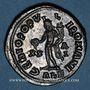 Monnaies Dioclétien (284-305). Follis. Alexandrie, 1ère officine, 301. R/: Génie