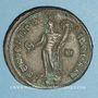 Monnaies Dioclétien (284-305). Follis. Antioche, 8e officine. 299-300. R/: Génie