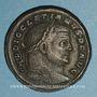 Monnaies Dioclétien (284-305). Follis. Aquiléa, 1ère officine. 301. R/: la Monnaie
