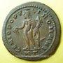 Monnaies Dioclétien (284-305). Follis. Cyzique, 3e officine, 295-296. R/: Génie