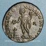 Monnaies Dioclétien (284-305). Follis. Lyon, 1ère officine. 301-303. R/: Génie