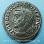 Monnaies Dioclétien (284-305). Follis. Lyon, 1ère officine, 304-305. R/: Génie