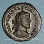 Monnaies Dioclétien (284-305). Follis. Lyon, 2e officine. 295. R/: Génie
