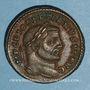 Monnaies Dioclétien (284-305). Follis. Ticinum, 2e officine. 295-299. R/: Génie
