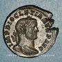 Monnaies Dioclétien (284-305). Follis. Trèves, 1ère officine. 296-297. R/: Génie
