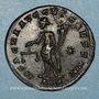 Monnaies Dioclétien (284-305). Follis. Trèves, 1ère officine, 300-301. R/: la Monnaie