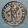 Monnaies Dioclétien (284-305). Follis. Trèves, 2e officine. 298-299. R/: Génie