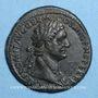 Monnaies Domitien (81-96). As. Rome, 86. R/: la Valeur