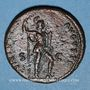 Monnaies Domitien (81-96). As. Rome, 87. R/: la Valeur debout à droite