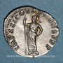 Monnaies Domitien (81-96). Denier. Rome, 92. R/: Pallas