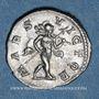 Monnaies Elagabale (218-222). Denier. Rome, 218-219. R/: Mars nu avec le manteau flottant
