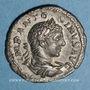 Monnaies Elagabale (218-222). Denier. Rome, 219. R/: la Fidélité militaire debout de face