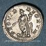 Monnaies Elagabale (218-222). Denier. Rome, 219. R/: la Providence debout à gauche