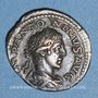 Monnaies Elagabale (218-222). Denier. Rome, 219. R/: la Providence