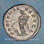 Monnaies Elagabale (218-222). Denier. Rome, 220-221. R/: la Fortune