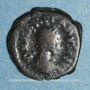 Monnaies Empire romain d'Orient. Marcien (450-457). 1/2 centénionalis. Constantinople. R/: monogramme