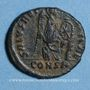 Monnaies Eudoxia, épouse d'Arcadius. Centenionalis. Constantinople, 1ère officine, 402-404. R/: Victoire