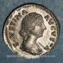 Monnaies Faustine jeune, épouse de Marc Aurèle († 17. Denier. Rome, 166-175. R/: la Fécondité