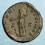 Monnaies Faustine jeune, épouse de Marc Aurèle († 175). Sesterce. Rome, 161-175. R/: Junon